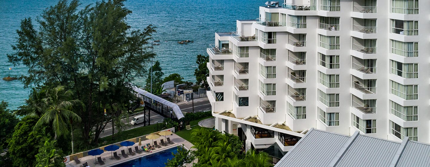 Hotel DoubleTree by Hilton Penang, Malaysia - Eksterior Hotel