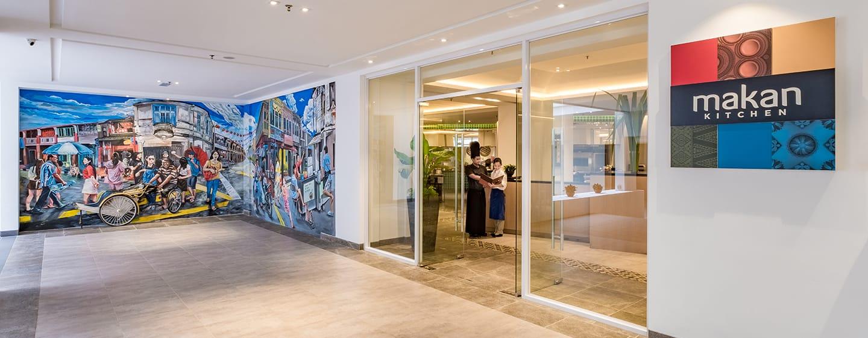 โรงแรม Doubletree by Hilton Penang มาเลเซีย - ทางเข้า Makan Kitchen