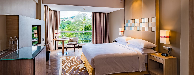 Hotel DoubleTree by Hilton Hotel Melaka, Malaysia - Kamar Tamu dengan Tempat Tidur King