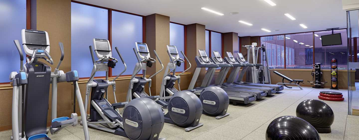 DoubleTree by Hilton Hotel Philadelphia Center City, Pennsylvania, USA – Fitness Center