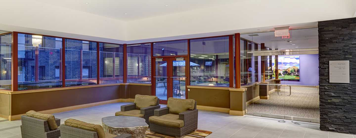 DoubleTree by Hilton Hotel Philadelphia Center City, Pennsylvania, USA – Lobby der Suites on 5