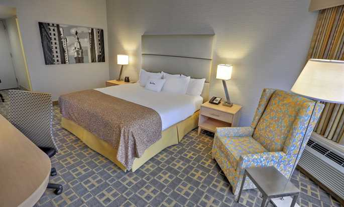 DoubleTree By Hilton Hotel Philadelphia Center City, Pennsylvania, USA – Zimmer mit einem King-Size-Bett