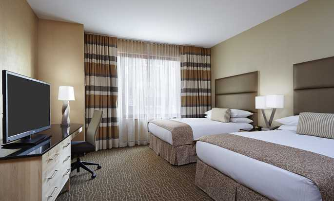 DoubleTree by Hilton Hotel Philadelphia Center City, Pennsylvania, USA – Suite mit zwei Queen-Size-Betten