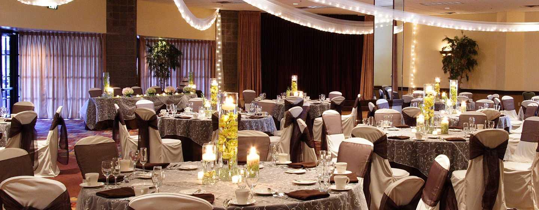 Hotel DoubleTree Resort by Hilton Paradise Valley, Arizona - Salón de fiestas Bouchon con decoraciones