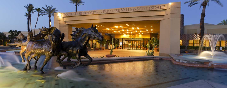Hôtel DoubleTree Resort by Hilton Hotel Paradise Valley - Scottsdale, Arizona - Extérieur de l'hôtel