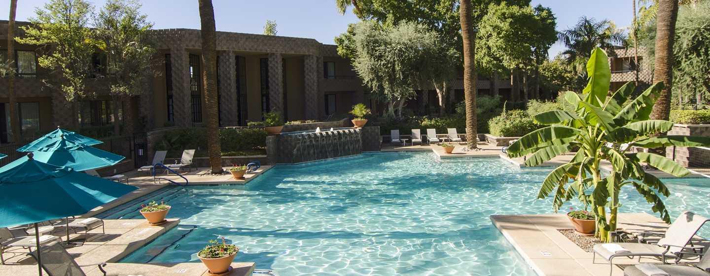 Hotel DoubleTree Resort by Hilton Paradise Valley, Arizona - Piscina sur