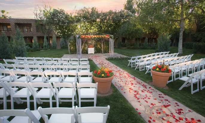 Hôtel DoubleTree Resort by Hilton Hotel Paradise Valley - Scottsdale, Arizona - Mariage