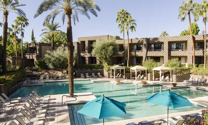 Hôtel DoubleTree Resort by Hilton Hotel Paradise Valley - Scottsdale, Arizona - Piscine nord