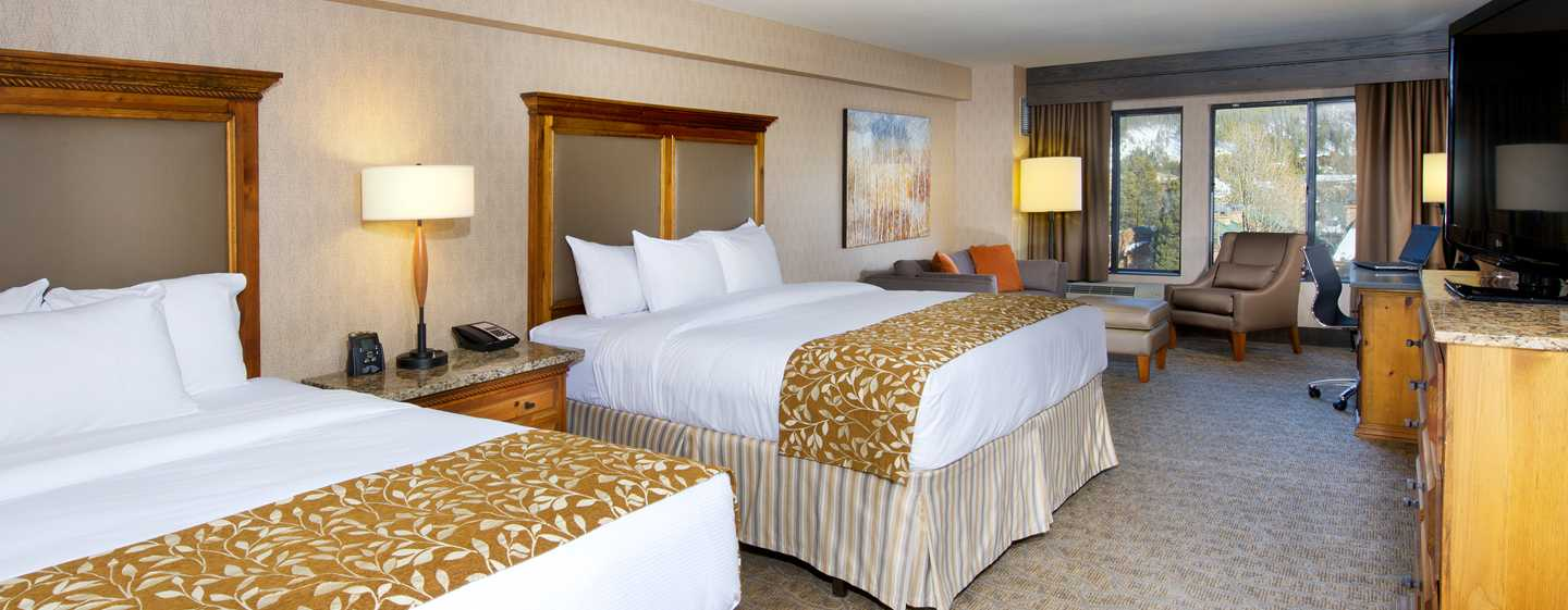 DoubleTree by Hilton Hotel Breckenridge, EUA – Quarto Double Queen