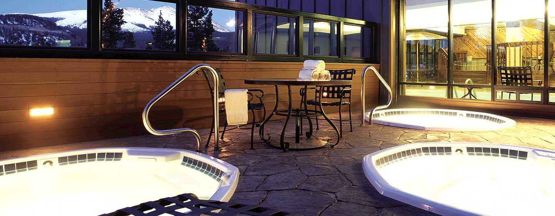 Hotel DoubleTree by Hilton Breckenridge, EE. UU. - Piscina de hidromasaje al aire libre