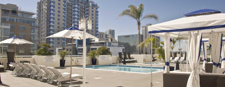 Hôtel DoubleTree by Hilton Hotel San Diego Downtown, États-Unis - Piscine de l'hôtel