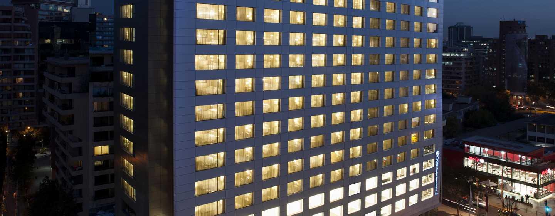Hotel DoubleTree by Hilton Santiago – Vitacura, Chile – Exterior do hotel