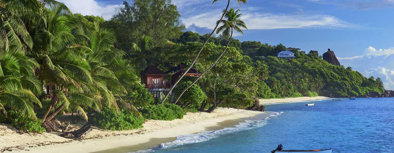 Hôtel DoubleTree Resort & Spa by Hilton Hotel Seychelles - Allamanda, Seychelles - Plage