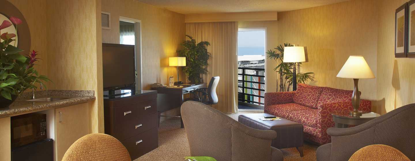 DoubleTree Suites by Hilton Hotel Santa Monica, Kalifornien, USA – Executive Suite des Hotels