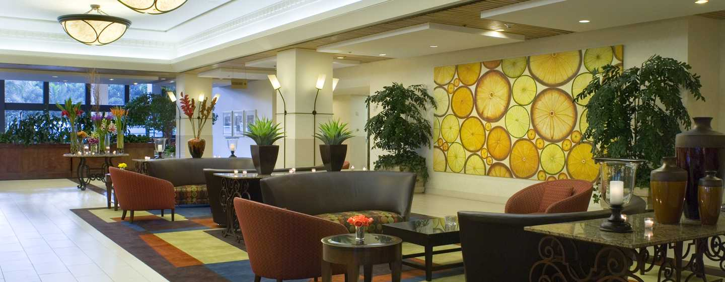Hôtel DoubleTree by Hilton Hotel Anaheim - Orange County, États-Unis - Hall