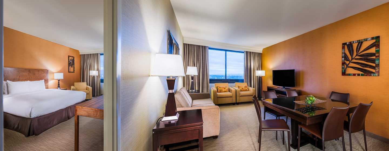Hotel DoubleTree by Hilton Anaheim - Orange County, Estados Unidos - Suite con cama King