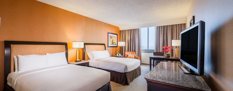 Hotel DoubleTree by Hilton Anaheim - Orange County, Estados Unidos - Habitación con camas dobles