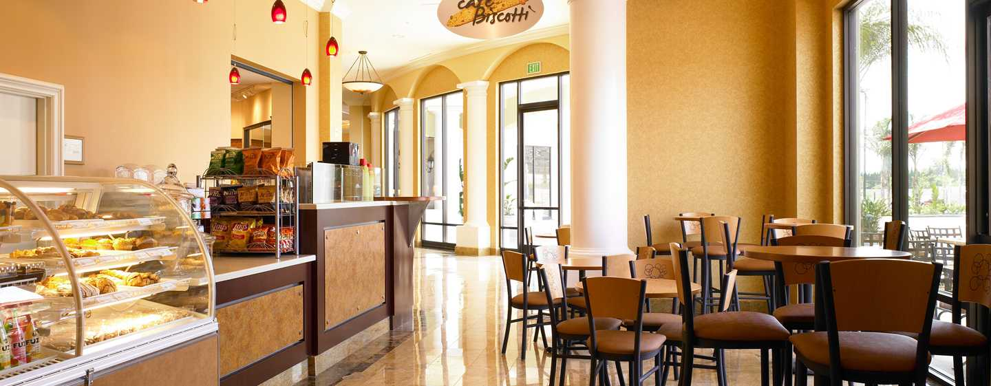 Hotel DoubleTree Suites by Hilton Anaheim Resort - Convention Center, California - Cafe Biscotti