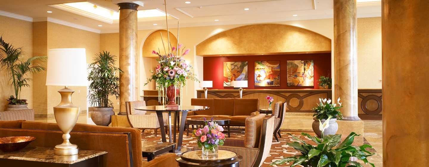 Hotel DoubleTree Suites by Hilton Anaheim Resort - Convention Center, California - Lobby del hotel