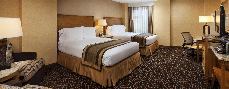 Hotel DoubleTree Suites by Hilton Anaheim Resort - Convention Center, California - Habitación estándar con dos camas Queen