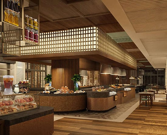 Hotel DoubleTree by Hilton Surabaya, Indonesia - Makan Kitchen Restaurant