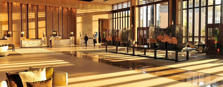 DoubleTree Resort by Hilton Hotel Sanya Haitang Bay, China– Lobby