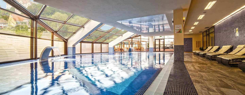 DoubleTree by Hilton Hotel Sighisoara - Cavaler, România - SPA cu piscină interioară