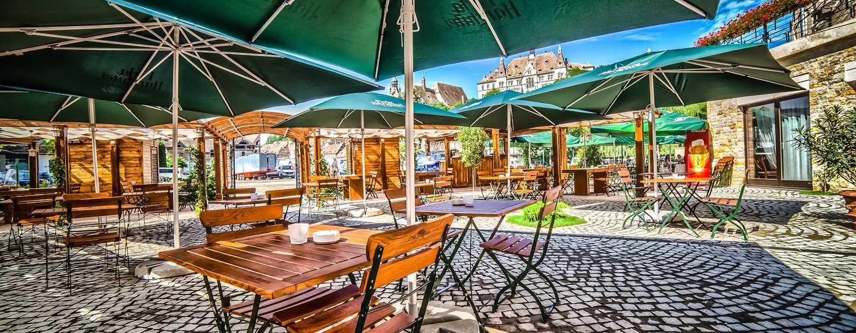 DoubleTree by Hilton Hotel Sighisoara - Cavaler, România - Terasă