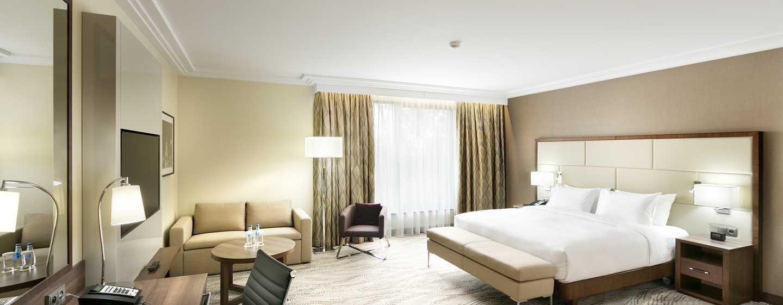 Bei der Buchung eines der Executive Zimmer erhalten Sie Zugang zur Executive Lounge im Hotel