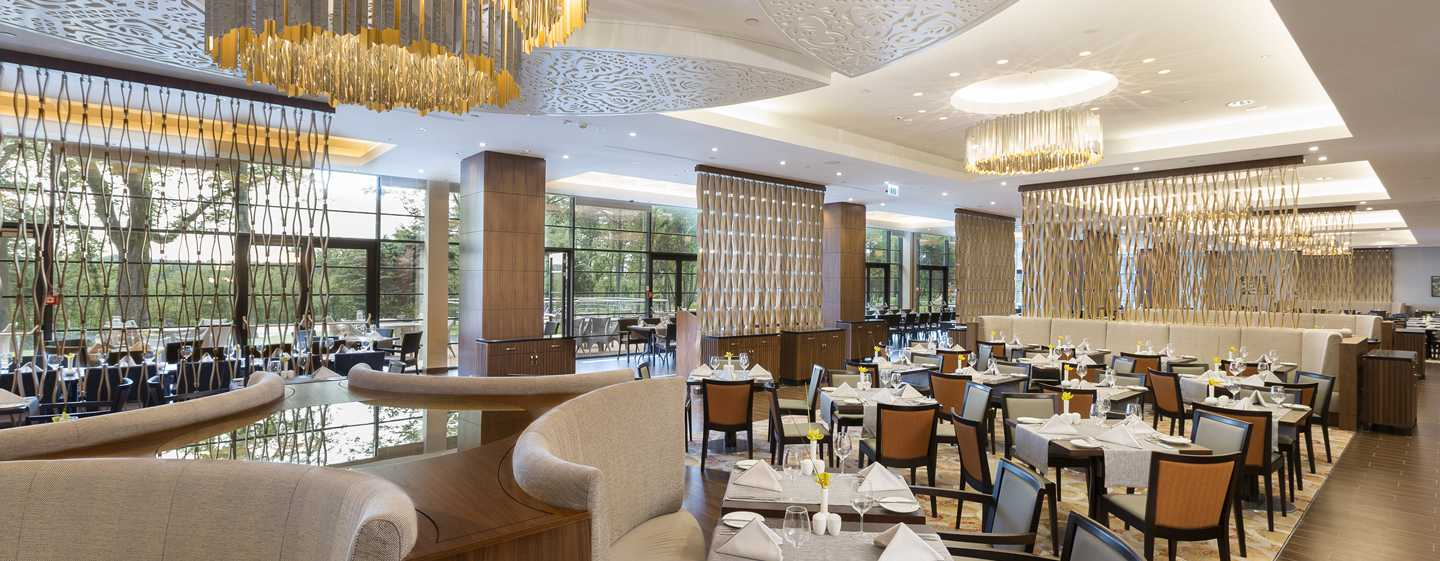 DoubleTree by Hilton Hotel & Conference Centre Warsaw, Polen – Restaurant Garden