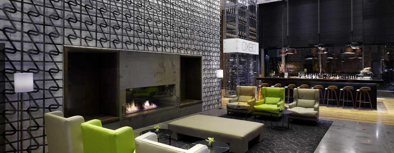 Хотел DoubleTree by Hilton Zagreb, Хърватия – лоби на хотела