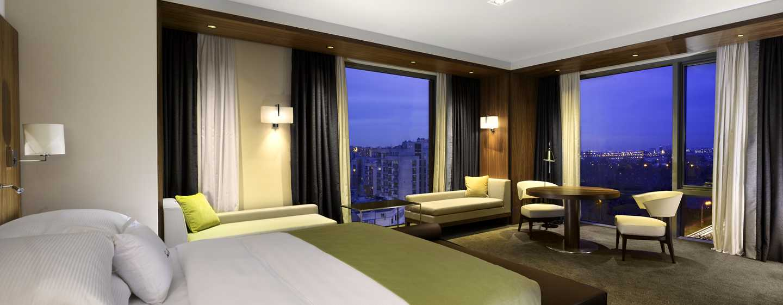 Хотел DoubleTree by Hilton Zagreb, Хърватия – ъглов апартамент