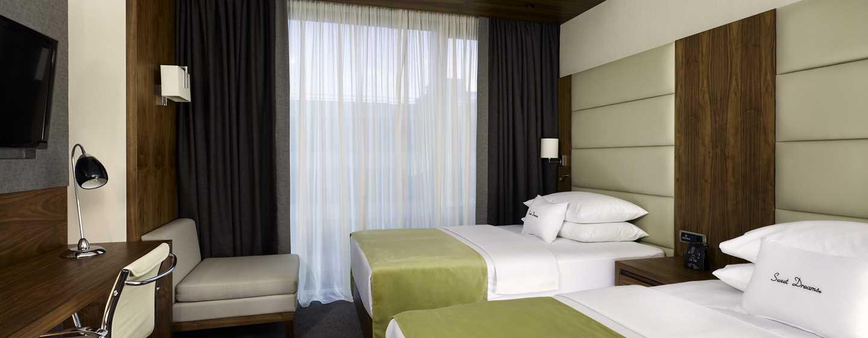 Хотел DoubleTree by Hilton Zagreb, Хърватия – стая за гости с две легла