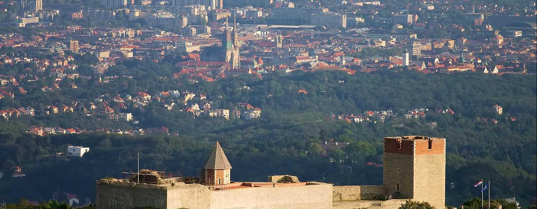 Хотел DoubleTree by Hilton Zagreb, Хърватия – Панорама към Медведград