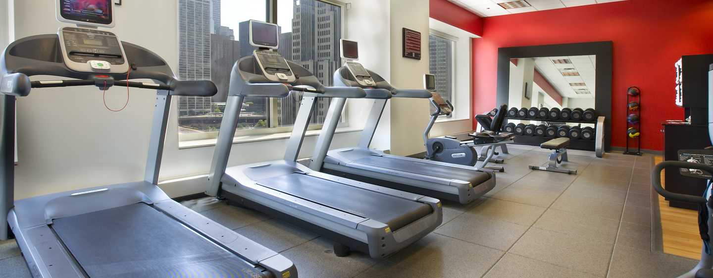 Embassy Suites Chicago Downtown Magnificent Mile Hotel, Illinois, USA– Chicago Fitness Center