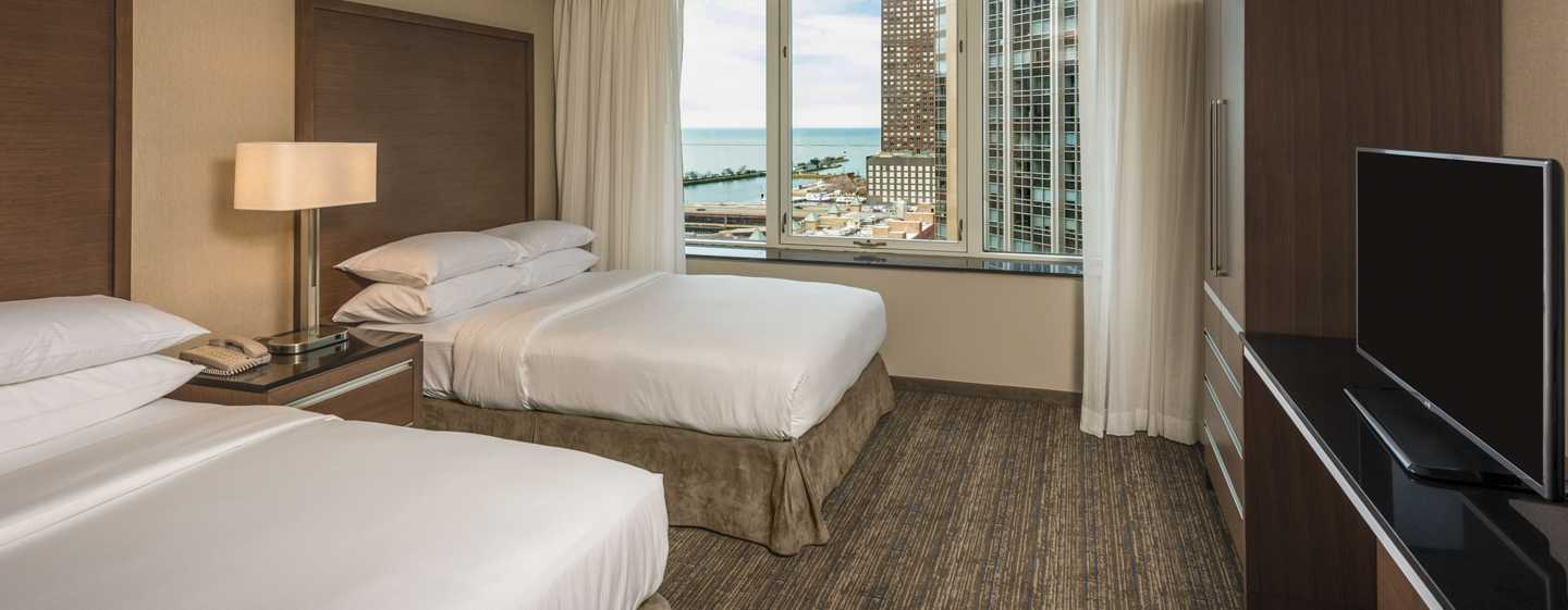 Embassy Suites Chicago Downtown Magnificent Mile Hotel, Illinois, USA – Zimmer und Suiten