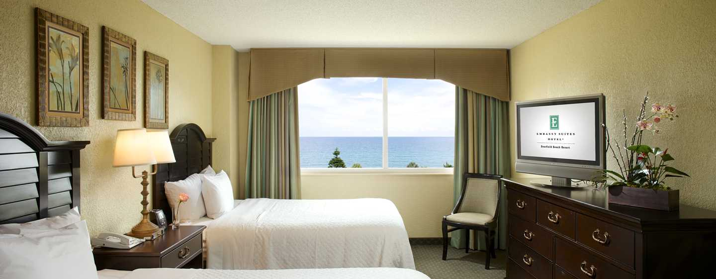 Embassy Suites Deerfield Beach - Resort & Spa, United States of America - Quartos com 2 camas de casal
