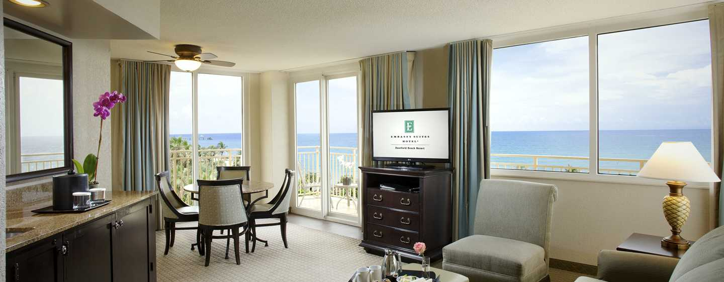 Embassy Suites Deerfield Beach - Resort & Spa, United States of America - Suíte Deluxe