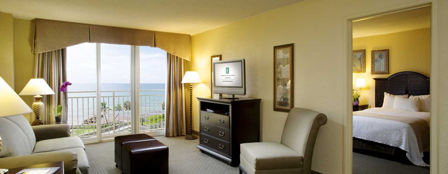 Embassy Suites Deerfield Beach - Resort & Spa, United States of America - Suíte de frente para o mar