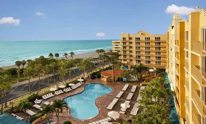 Embassy Suites Deerfield Beach - Resort & Spa, USA - Flybilde av bassenget