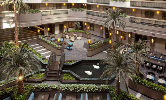 Embassy Suites by Hilton Houston Near the Galleria, Texas, EE.UU. - Atrio