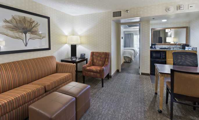 Embassy Suites by Hilton Los Angeles Downey, California - Sala de estar de la suite