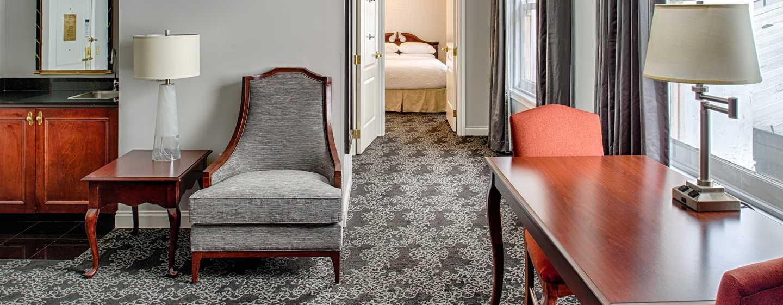 Embassy Suites by Hilton Portland Downtown, Oregon – Suite mit zwei Queen-Size-Betten