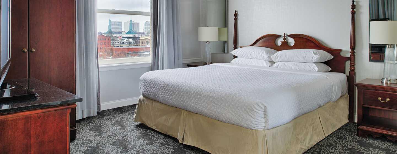 Embassy Suites by Hilton Portland Downtown, Oregon – Suite mit King-Size-Bett