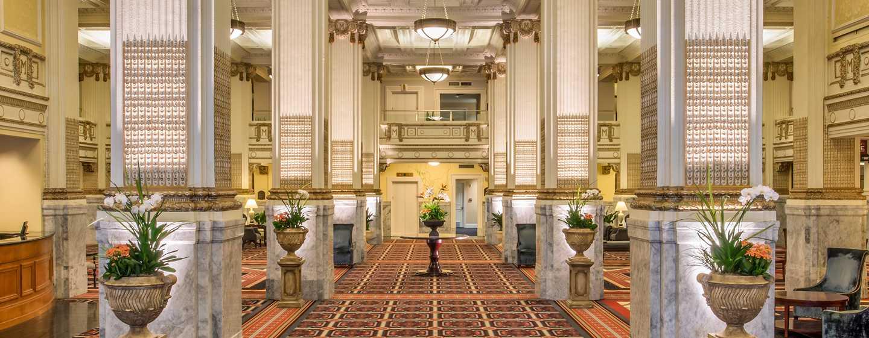 Embassy Suites by Hilton Portland Downtown, Oregon – Hotel-Lobby