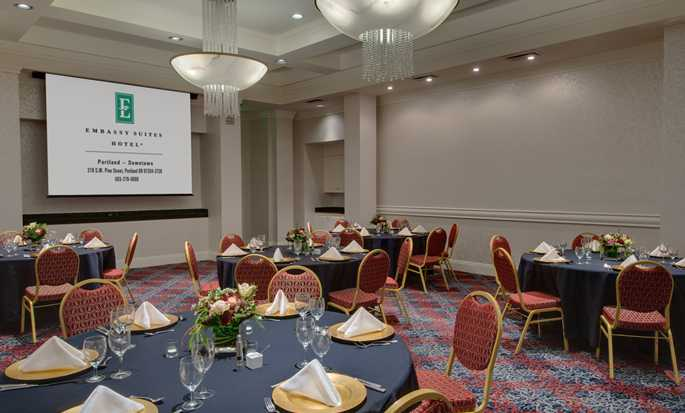 Embassy Suites by Hilton Portland Downtown, Oregon - Salón de eventos