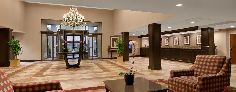 Embassy Suites Philadelphia – Airport Hotel, Pennsylvania, USA– Sitzbereich der Lobby