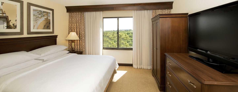 Embassy Suites Philadelphia – Airport Hotel, Pennsylvania, USA– Suite mit King-Size-Bett
