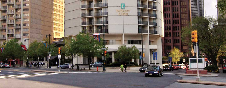 Hôtel Embassy Suites Philadelphia - Center City, Pennsylvanie - Extérieur de l'hôtel