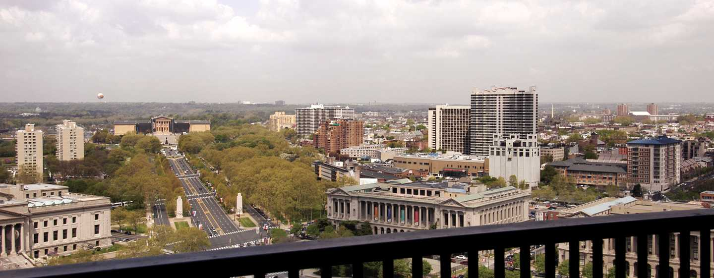 Embassy Suites Philadelphia – Center City Hotel, Pennsylvania, USA – Ausblick aus dem Gästezimmer